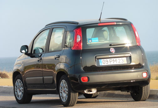 Interrent Porto Airport - Fiat Panda