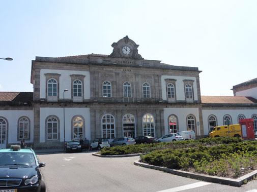 Porto Campanha train station