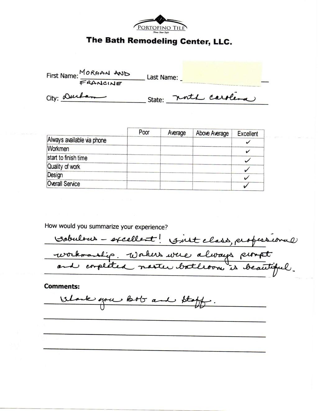 Portofino Tile The Bath Remodeling Center Reviews