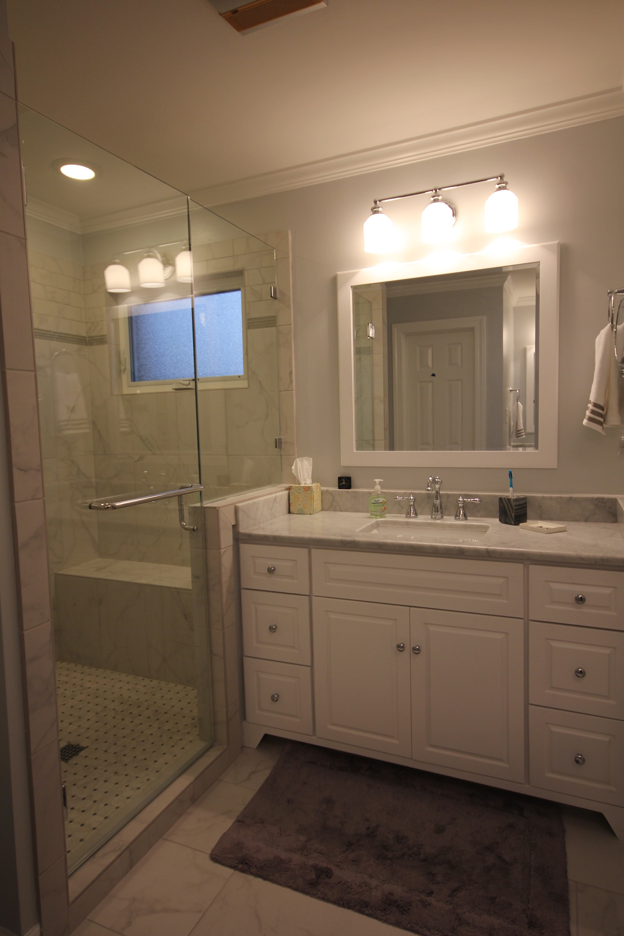 Before & After Bathroom Remodeling Images