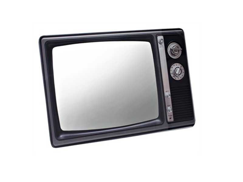 Ogledalo u obliku televizora - 1000 ideja za poklon za Božić