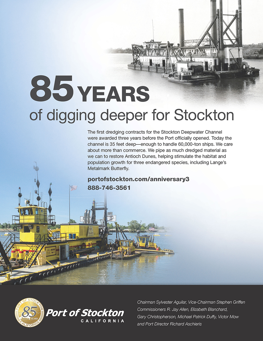 85 Years of Digging Deeper for Stockton