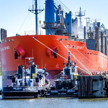 Tugboats and Ship