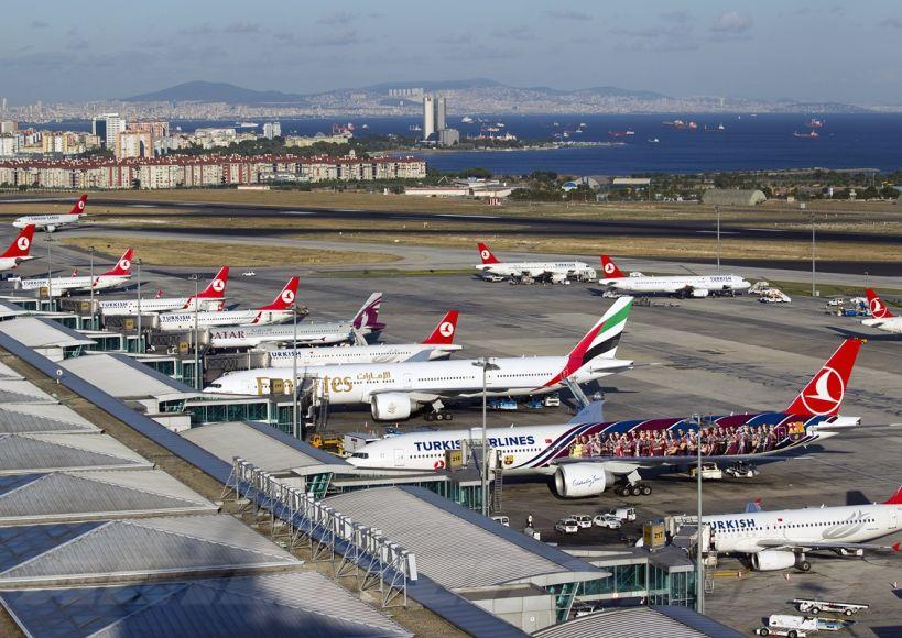 رحلة كل 65 ثانية من مطار أتاتورك خلال عطة عيد الأضحى