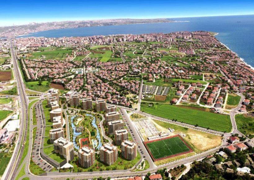 بهشة شهير اسطنبول (Bahçeşehir) منطقة الطبيعة الأخاذة