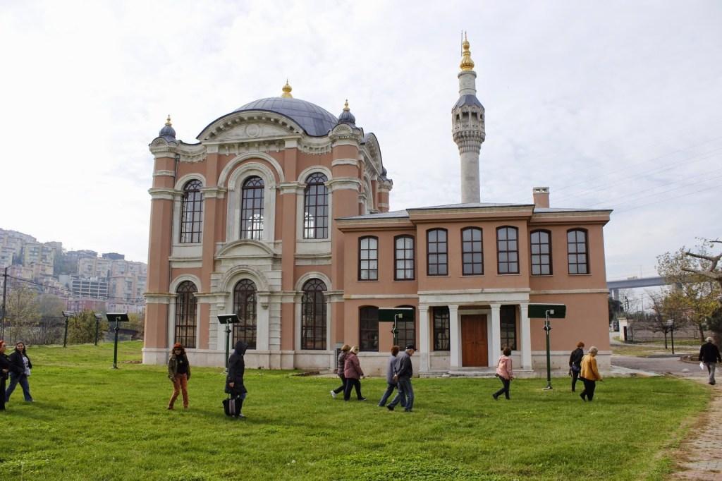 مسجد تشاليان (ساداباد) في اسطنبول (Çağlayan Camii- Sadabad)  Merkez, 34406 Kağıthane/İstanbul, Turkey