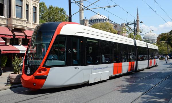 الترام واي Tramvay في اسطنبول
