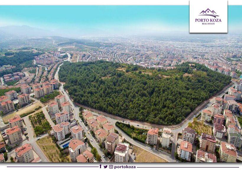 نيلوفر Nilüfer أكبر مناطق مدينة بورصة التركية