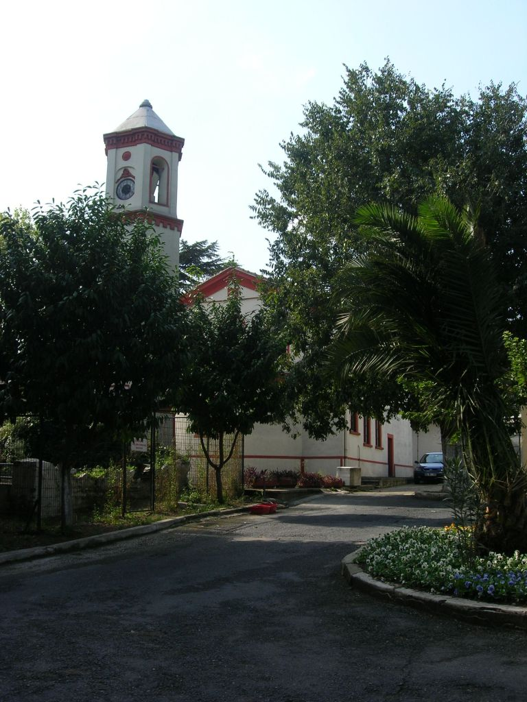 The church of the Greek hospital in Balikli