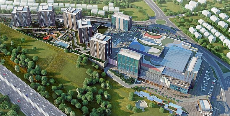 شقق للبيع  (PK-3559) مشروع استثماري غرف من 1+1 إلى 5+1 في غازي عثمان باشا
