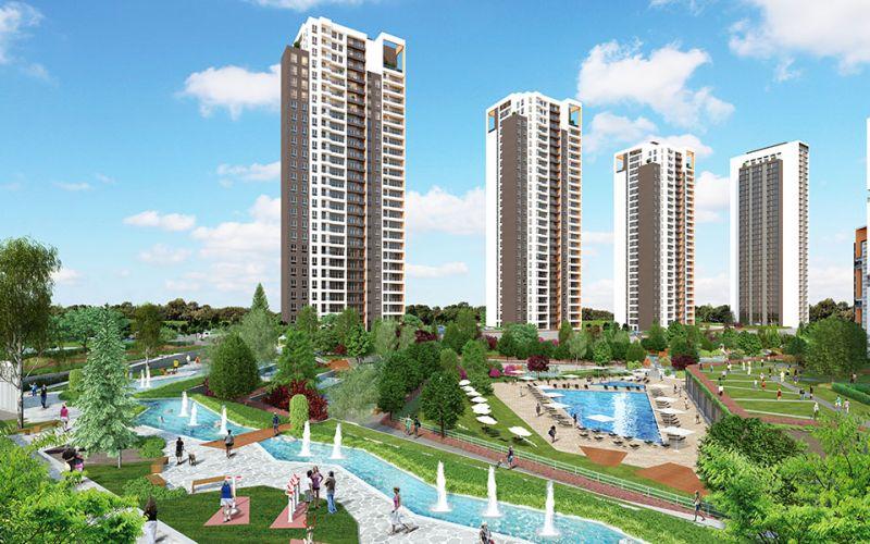 صور مجمع جول بانوراما ايفليري Göl Panorama Evleri ، كوتشوك شكمجة ، اسطنبول | بورتوكوزا العقارية