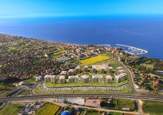 شقق للبيع في اسطنبول-مشروع محاط بالبحر من ثلاث جهات