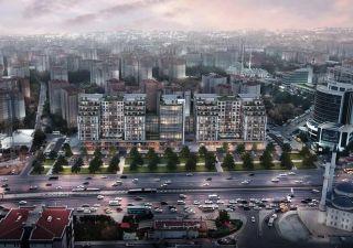 شقق للبيع  (PK-4834) مشروع استثماري غرف من 1+1 إلى 2+1 في بيليك دوزو
