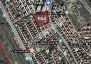 قطعة أرض للبيع  مقيم للجنسية التركية في باشاك شهير ، حي بهشا شهير