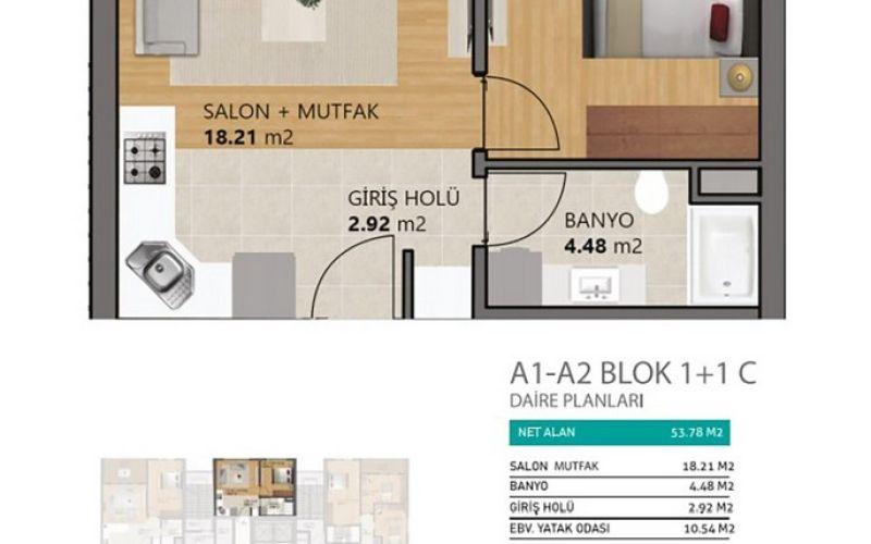 صور مخطط  ميدان يعقوبلو (MEYDAN YAKUPLU) ، بيليك دوزو ، حي ياكوبلو ، اسطنبول | بورتوكوزا العقارية