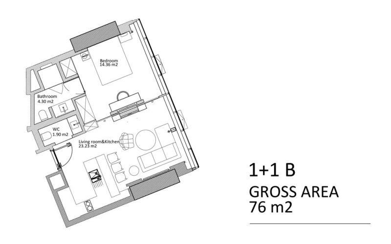 صور مخطط  جي روتانا (G Rotana) ، باغجلار ، حي محمود بيه ، اسطنبول | بورتوكوزا العقارية