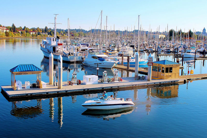 Swantown Marina and Boatworks