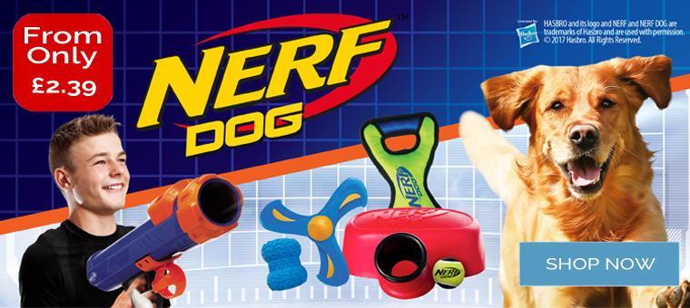 Nerf Dog Range