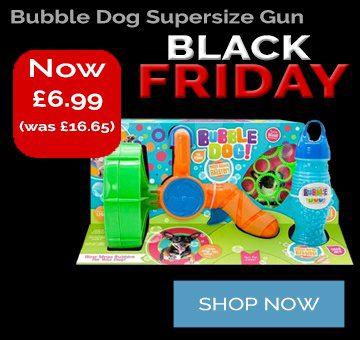Black Friday Deal Bubble Dog Supersize Electric Gun