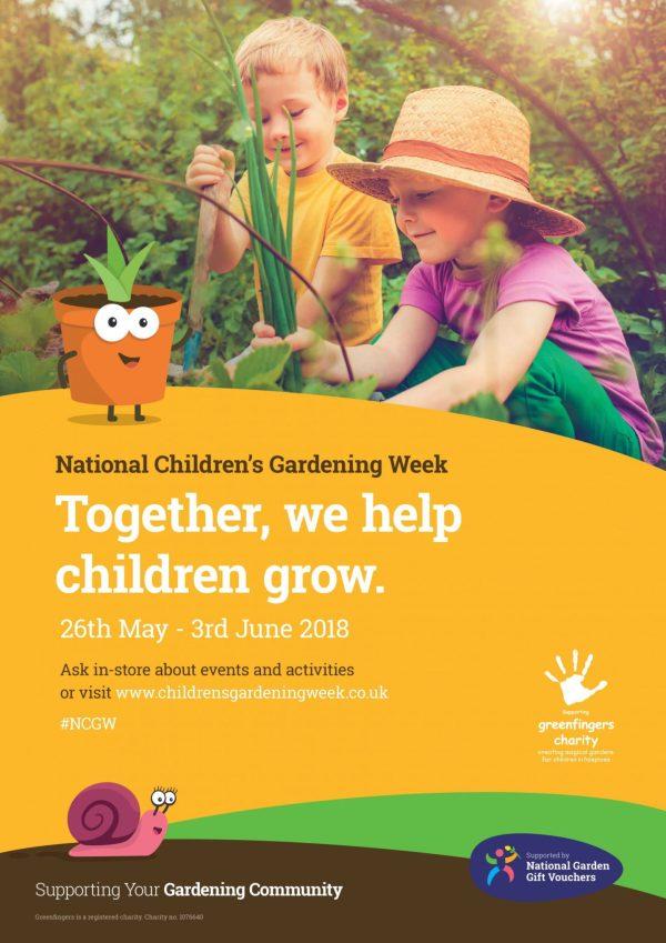 National children's gardening Week Poster