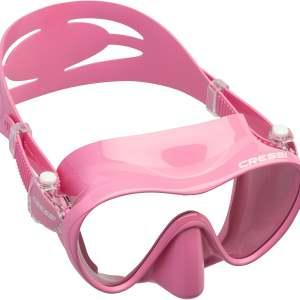 Mascara de Buceo Cressi F1 Small rosa