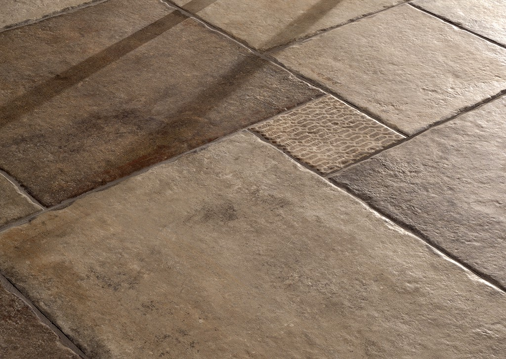 Carrelage aspect pierre traditionnelle nuance HERITAGE