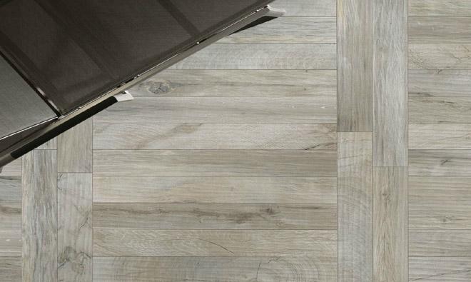 Carrelage imitation parquet bois Ker Wood Grey