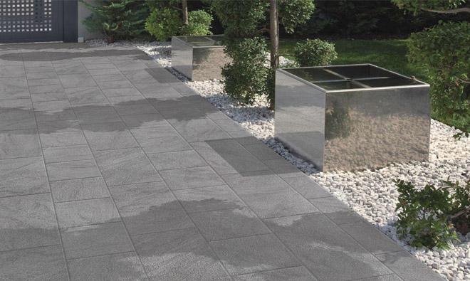 Carrelage Terrasse Exterieure Stone Grey