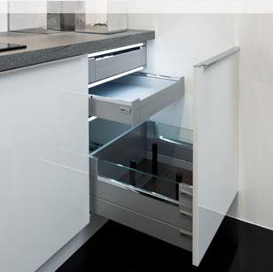meuble haut cuisine porte coulissante