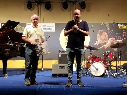 Stefano Onorati e Claudio Donà