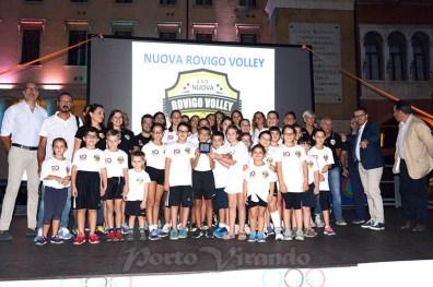 coni sport villagge piazza seconda giornata VOLLEY ROVIGO