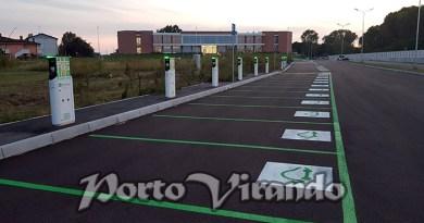 A Rosolina la stazione di ricarica più grande d'Italia.