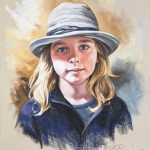 Step By Step Pastel Portrait Painting Of A Young Boy With His Favourite Hat Pastel Portraits