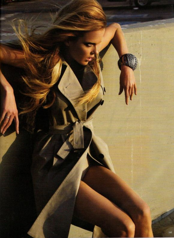 """Shannan Click photographed by Claudia Knoepfel & Stefan Indlekofer in """"Over The Top"""" for Vogue Germany, February 2010 1"""