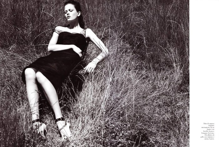 """Marlena Szoka photographed by Stefano Moro in """"Bellissima"""" for Amica Italy, February 2010 2"""