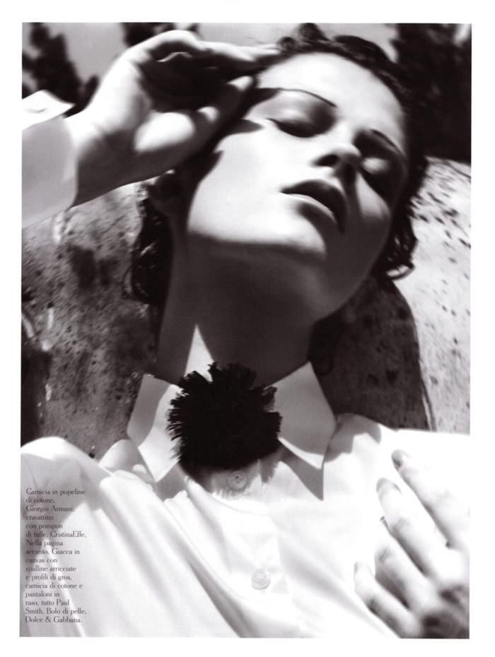 """Marlena Szoka photographed by Stefano Moro in """"Bellissima"""" for Amica Italy, February 2010 3"""