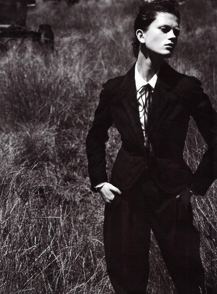 """Marlena Szoka photographed by Stefano Moro in """"Bellissima"""" for Amica Italy, February 2010 4"""