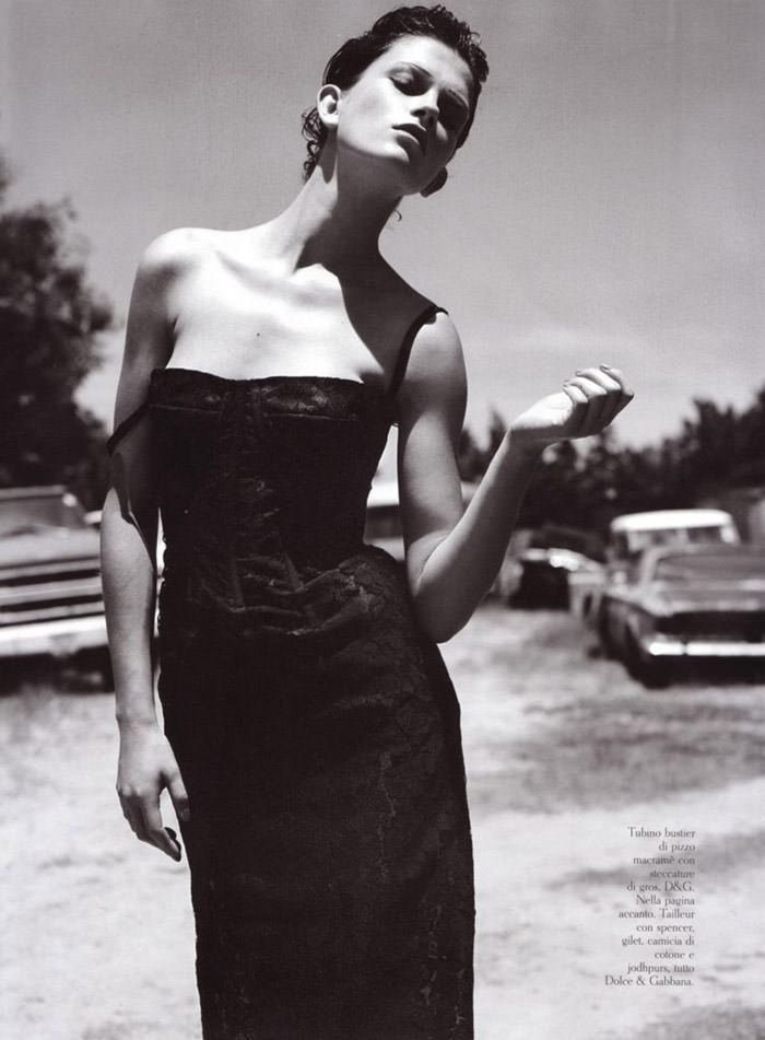 """Marlena Szoka photographed by Stefano Moro in """"Bellissima"""" for Amica Italy, February 2010 5"""
