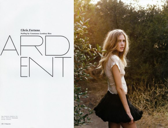 """Flashback: Emily Blake photographed by Chris Fortuna in """"Ardent"""" for S Magazine - Issue #8 1"""