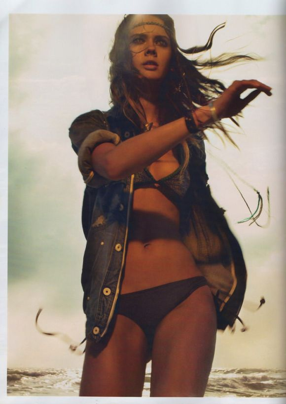 "Flashback: Monika 'Jac' Jagaciak photographed by Chuando & Frey in ""Beach"" for French Jalouse, June 2008 8"