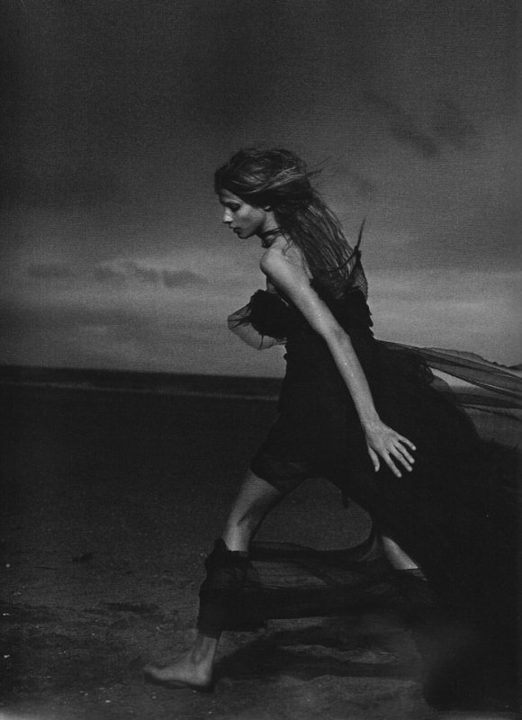 Anna Selezneva photographed by Peter Lindbergh in Numéro #110 11