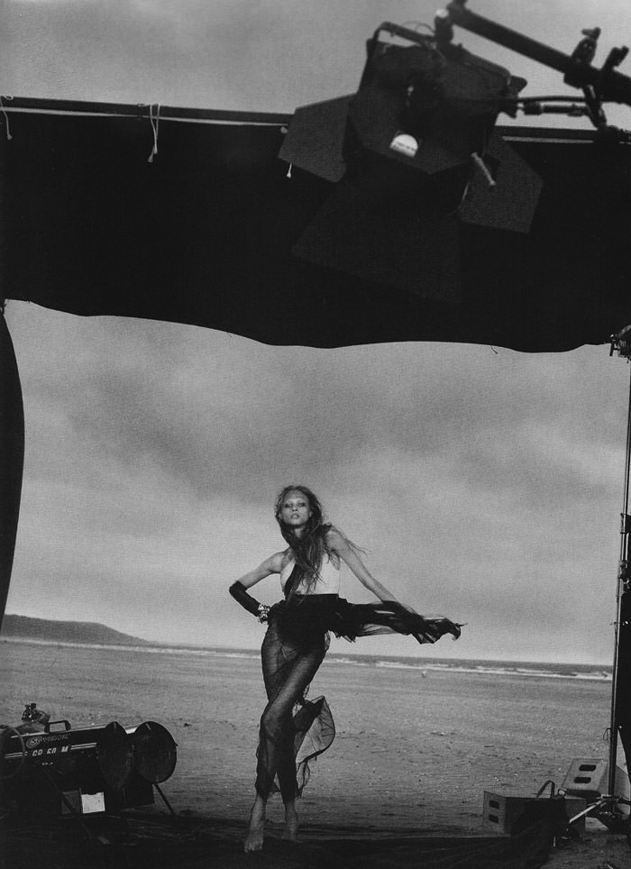 Anna Selezneva photographed by Peter Lindbergh in Numéro #110 12