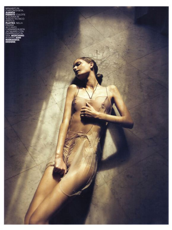 "Mathilde Frachon photographed by David Bellemére in ""Attrazione Indochic"" for Maire Claire Italy, February 2010 5"