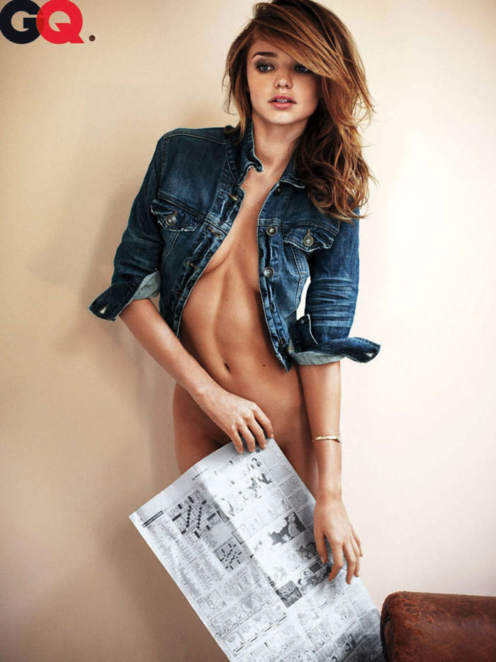 Out-Takes: Miranda Kerr photographed by Alexi Lubomirski for GQ, February 2010 4