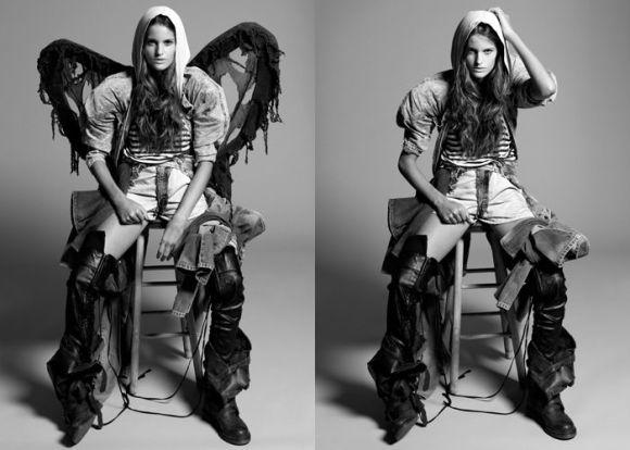 """Izabel Goulart photographed by Yu Tsai in """"Amazing Izabel"""" for Contributor Magazine 1"""