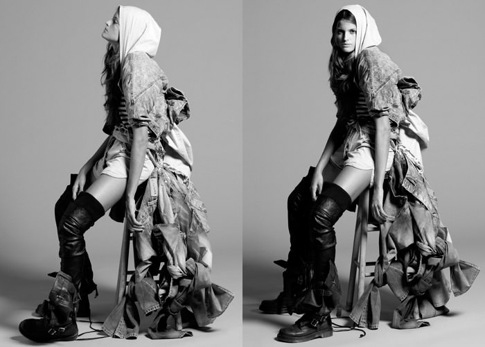 """Izabel Goulart photographed by Yu Tsai in """"Amazing Izabel"""" for Contributor Magazine 10"""