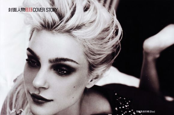 Jessica Stam photographed by Mei Yuan Gui for Elle China, February 2010 7