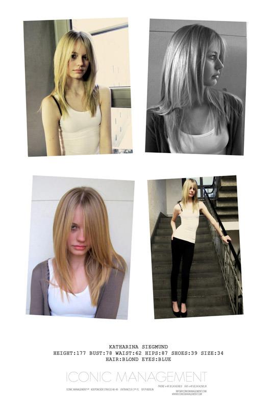 Model Profile: Katharina Siegmund 1