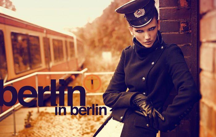 "Nina Reijnders photographed by Koray Birand in ""Berlin In Berlin"" for Marie Claire 1"