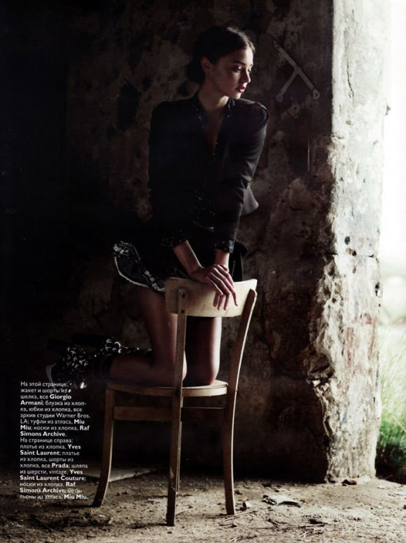 Update: Miranda Kerr photographed by Willy Vanderperre for Vogue Russia, February 2010 5
